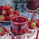 Confiture de fraises maison traditionnelle