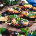 pizza aubergine facile sans pâte