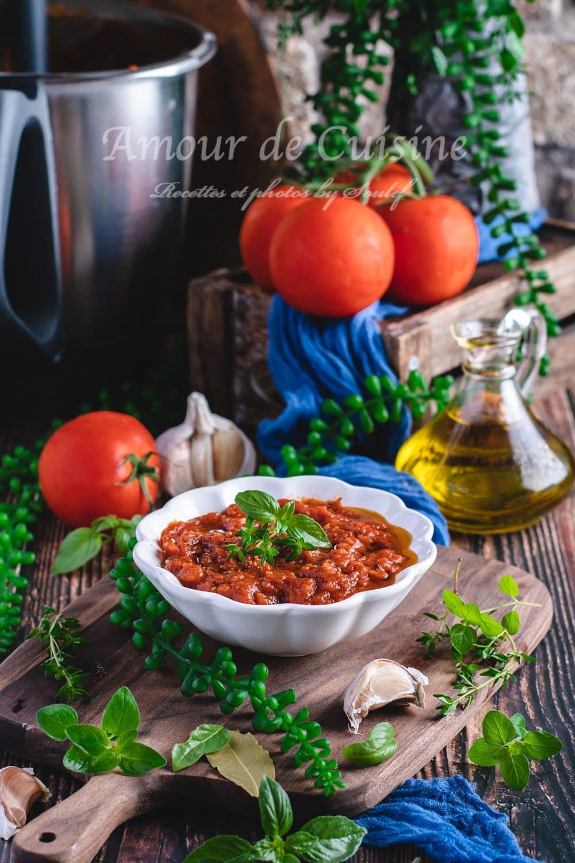 sauce tomate maison facile