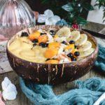 smoothie bowl à la mangue et banane