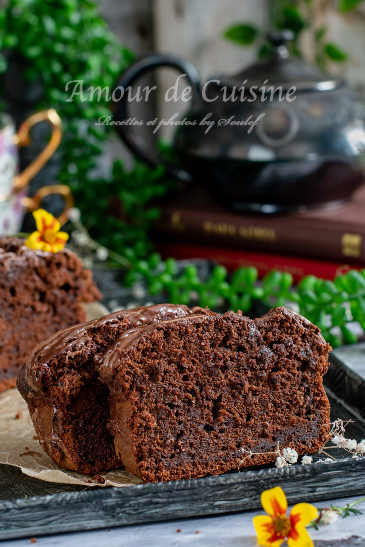 Cake au chocolat et courgette ultra moelleux