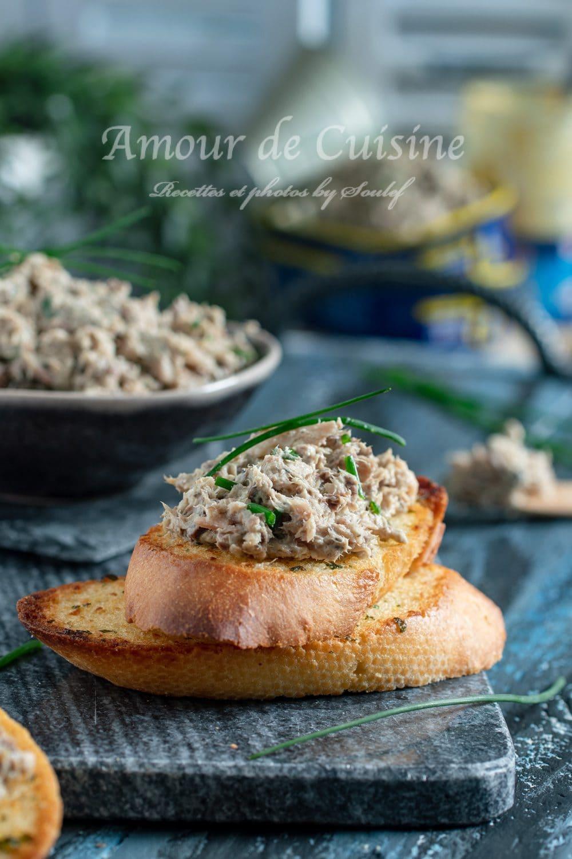 Rillettes de sardine à la moutarde