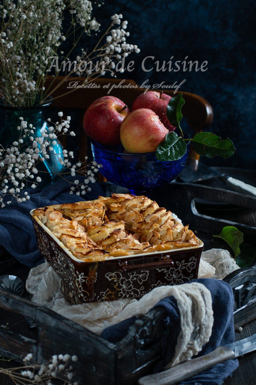 brioche perdue aux pommes au four