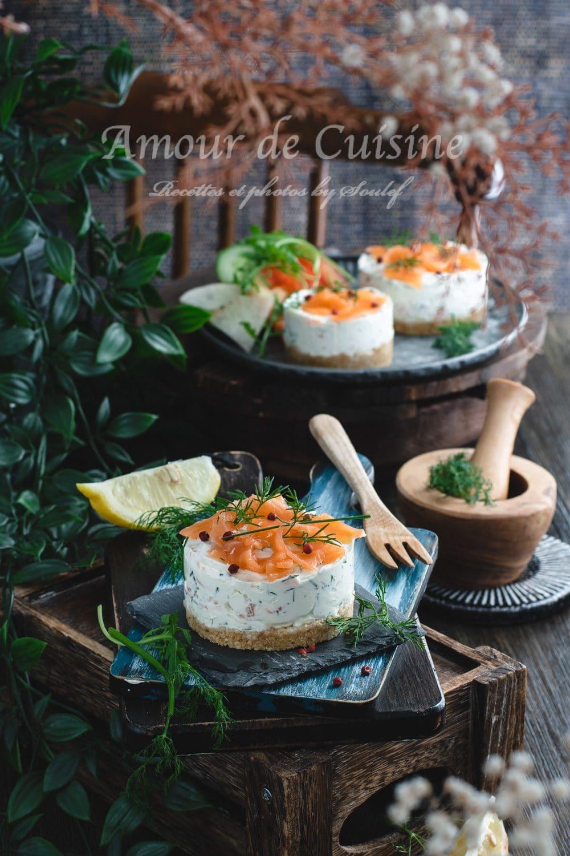 Cheesecake au saumon fumé facile