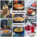 Idée de recettes d'automnes ( soupes, plats et desserts)