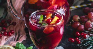 Sangria sans alcool mocktail facile