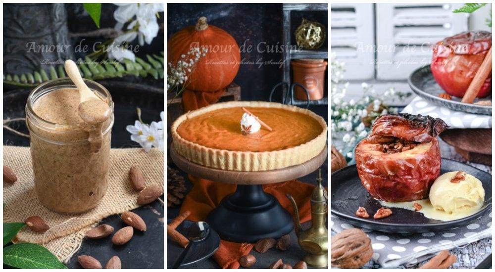 idees de desserts d'automne