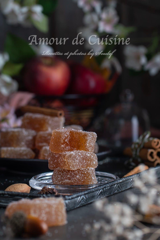 pate de fruits aux pommes facile