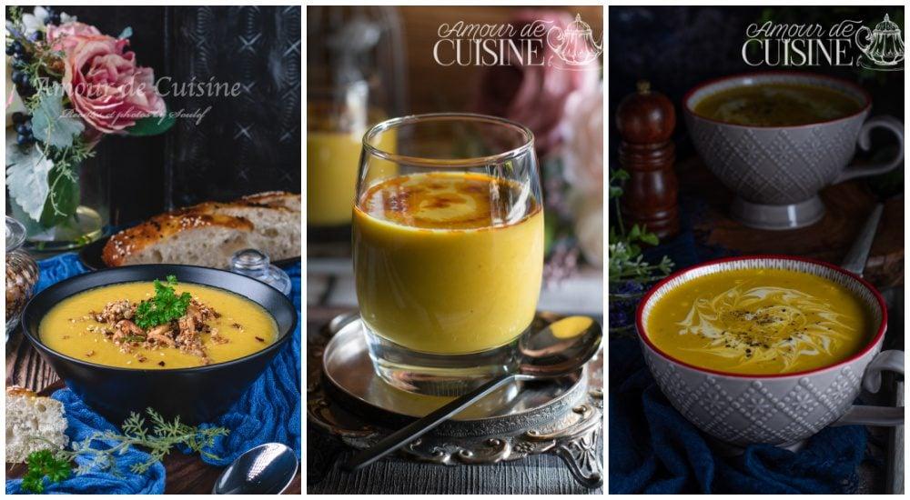 Idées de recettes d'automne les soupes